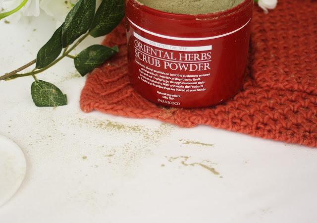 Swanicoco, Oriental Herbs Scrub Powder