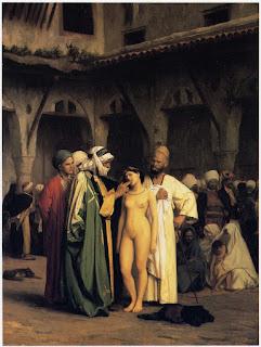 Niewolnica - koszmarni samcy przez tysiące lat tak właśnie, paskudniki!