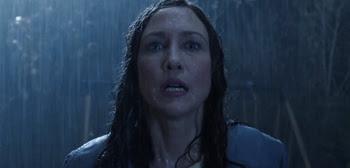 the conjuring the rain scene