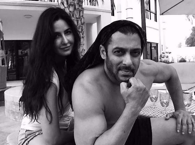 Katrina Kaif Instagram Photo with Salman Khan
