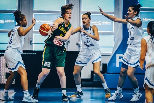 Εθνική Νεανίδων: Ελλάδα - Λιθουανία 57-96