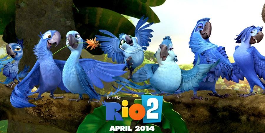 Caracterele simpatice din animaţia Rio 2