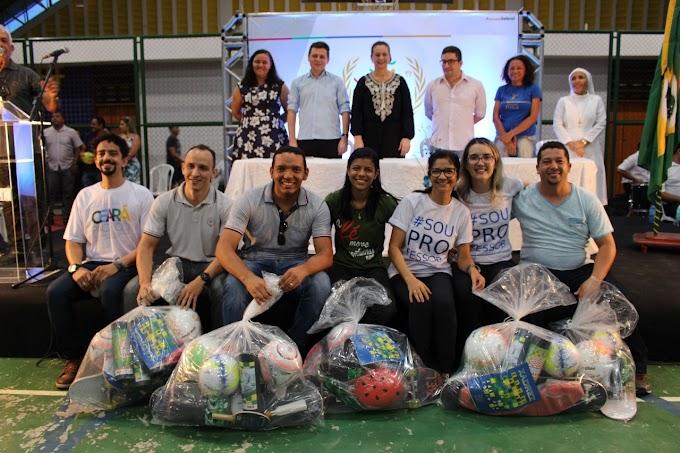 XVIII JOGOS ESCOLARES | Abertura aconteceu nesse sábado; participaram alunos das redes municipal, estadual e privada