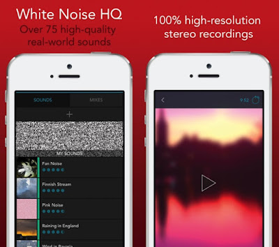 "There are a lot of white noise apps available in the App Store, but this one is by far the most robust. "" -Engadget.com. Relax, block noise, and increase focus with over 75 authentic live-recorded white noise sounds from around the world."