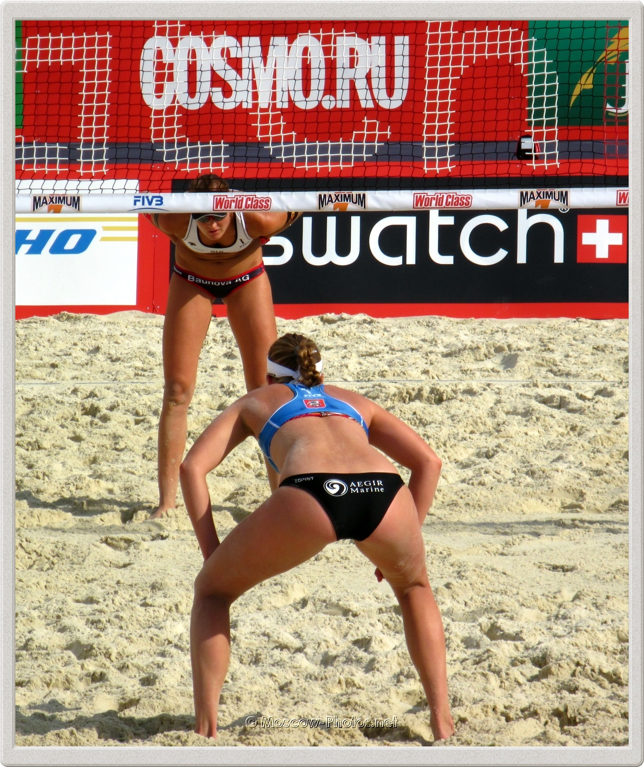 Roos Van der Hoeven (NED) vs Simone Kuhn (SU)