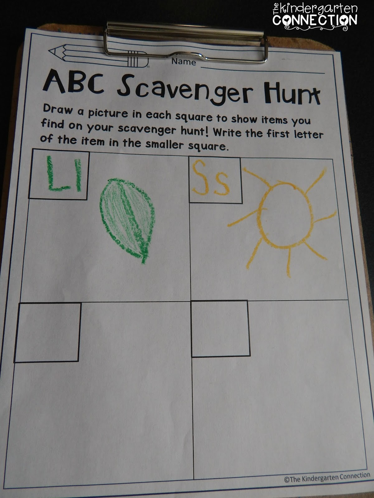 5 FUN Ways to Learn the Alphabet - The Kindergarten Connection