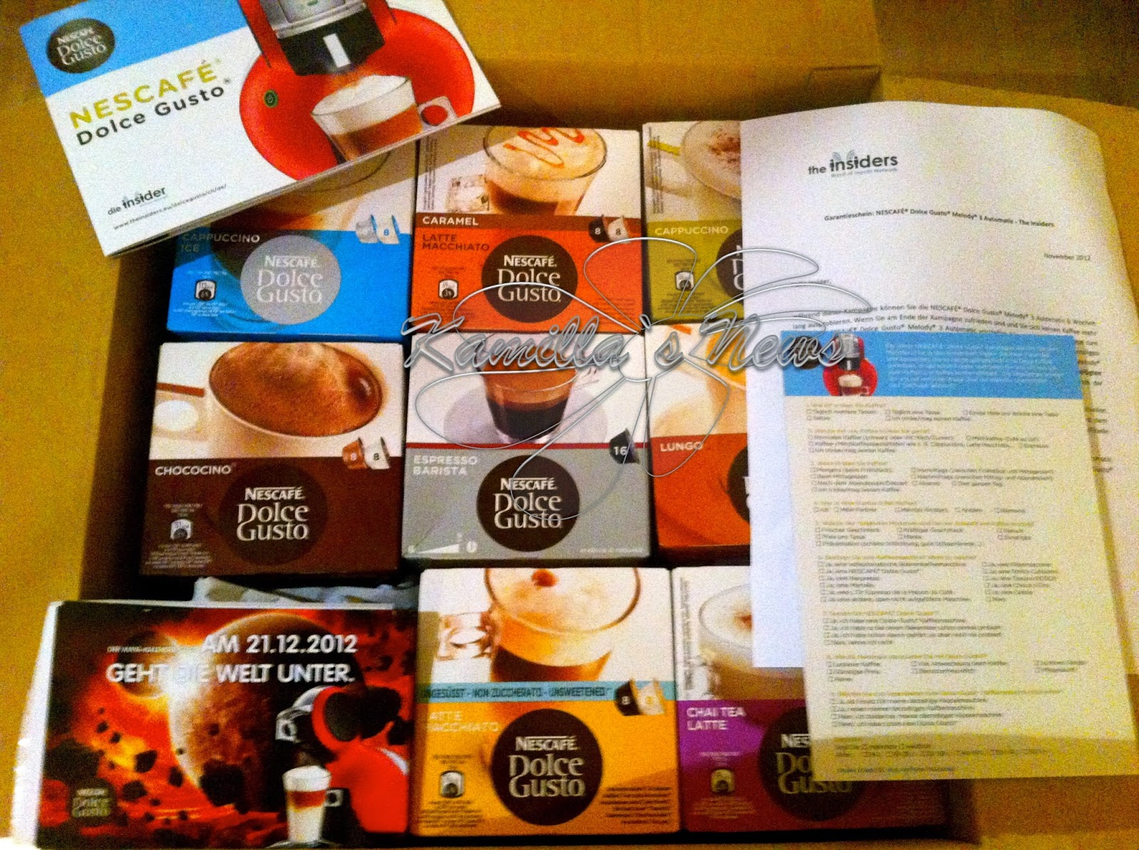 test dolce gusto