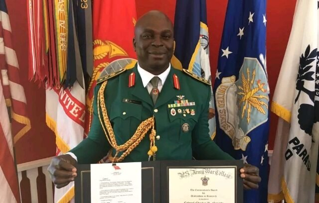 Nigerian Army General Detained After $16m Was Found In His Wife's Account (Photo)