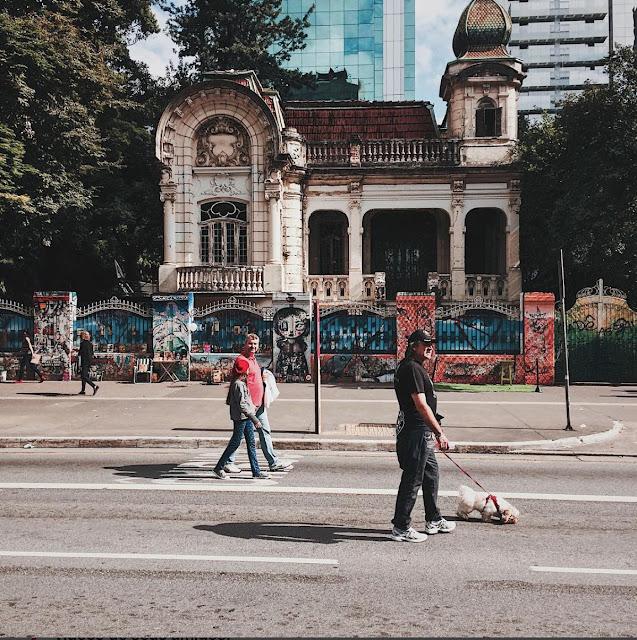 Avenida Paulista fechada de domingo
