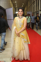 Nivetha Thamos in bright yellow dress at Ninnu Kori pre release function ~  Exclusive (26).JPG