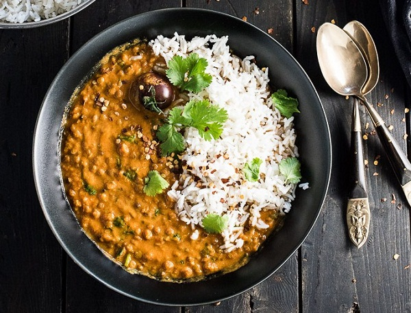 Easy Creamy Coconut Lentil Curry