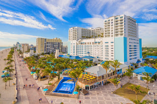Margaritaville Hollywood Beach Resort exterior, Florida