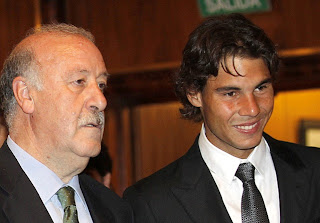 Del Bosque and Nadal: Honorary members of Real Madrid