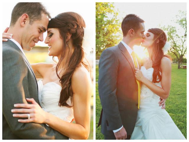 rustic DIY wedding with kraft & burlap details   photos by keira grace