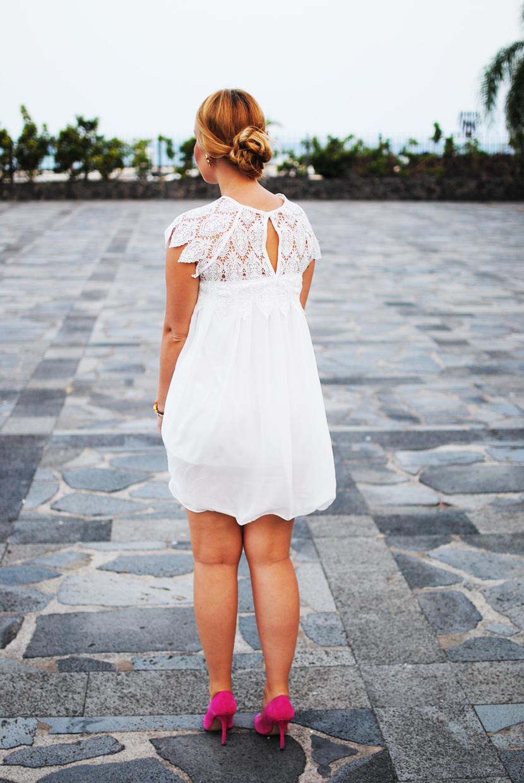 chicwish, chicwish blogger, SNB, nery hdez, white dress