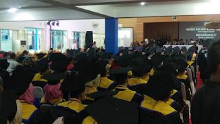 Sidang Terbuka Senat Unswagati Wisuda Sarjana Dan Magister Ke  52 Tahun Akademik 2018-2019 Dan Disnatalis 58