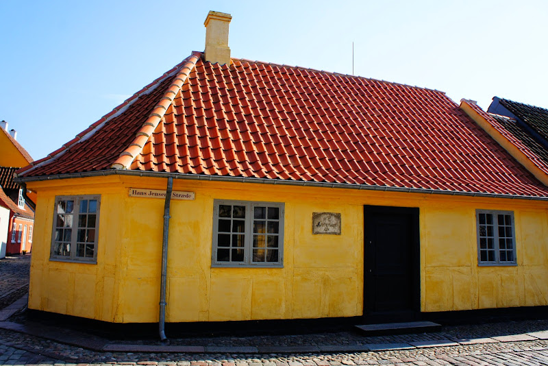 Hans Christian Andersen's Birthplace Odense Denmark