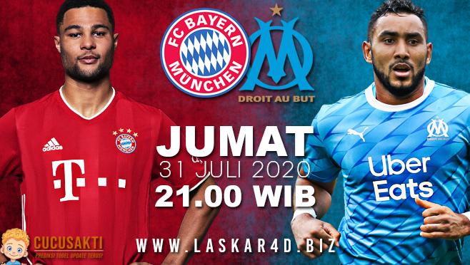 Prediksi Bola Bayern Munchen vs Olympique Marseille Jumat 31 Juli 2020