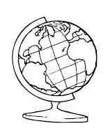 כדור הארץ דף צביעה