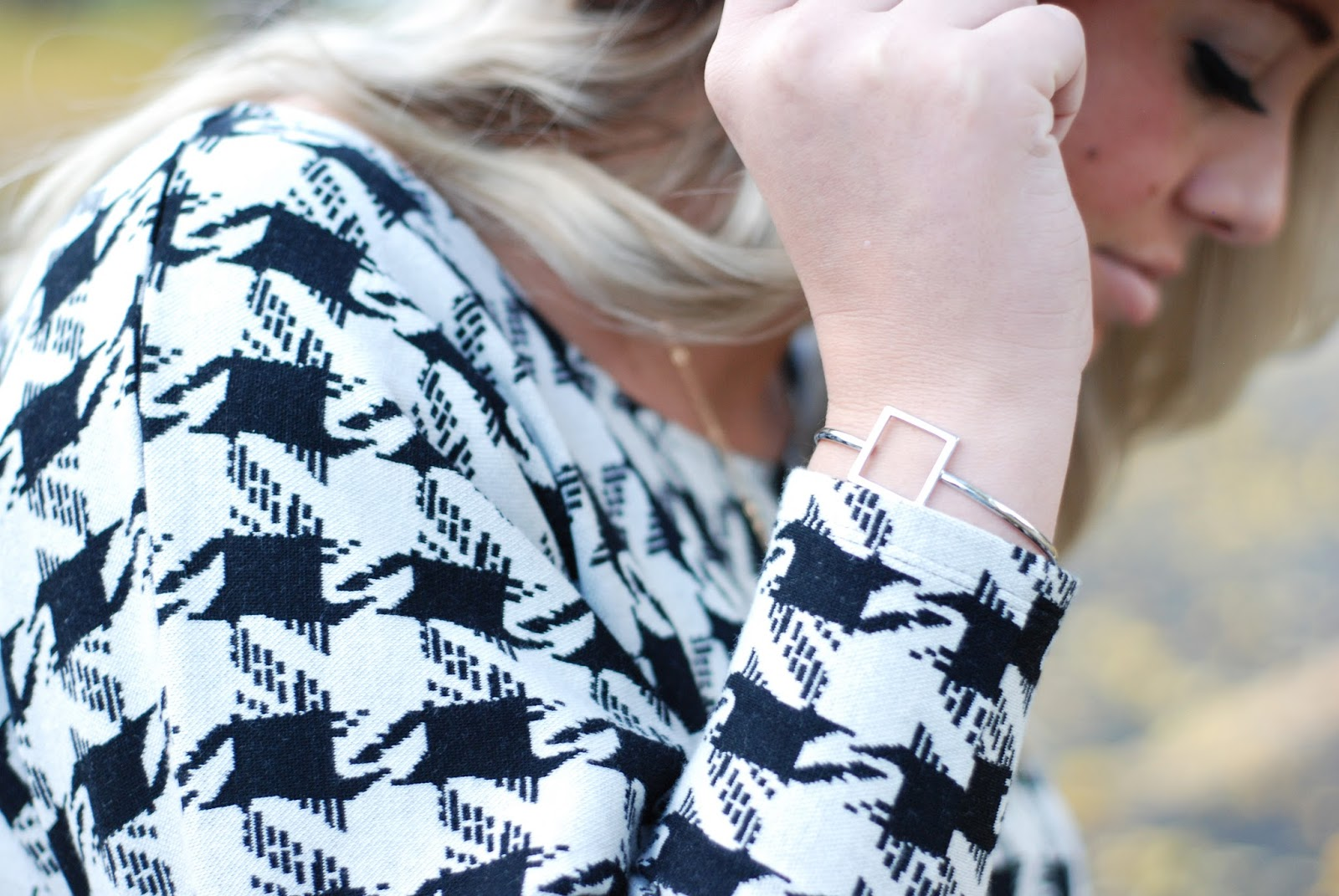 Weekend Flair, Houndstooth, Utah Fashion Blogger