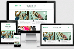 The Essence Responsive Modern and Clean Blogger Template Free Download