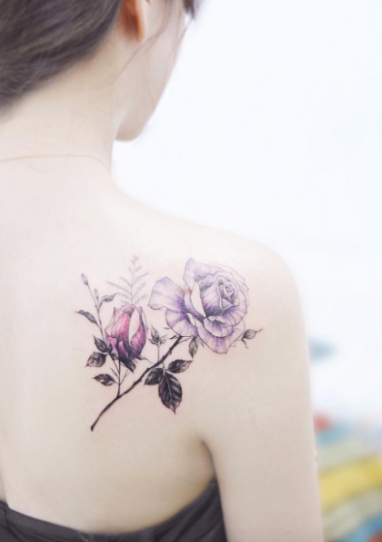 Tatuagem nas costas