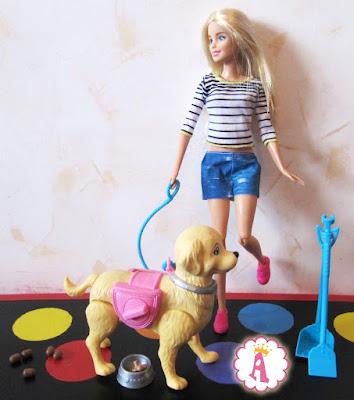 Игрушки из набора Barbie Walk & Potty Puppy