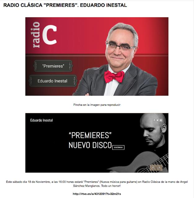 EDUARDO EN  RADIO CLÁSICA