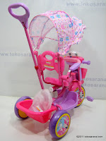 4 GoldBaby JT09 Winch Baby Tricycle in Pink