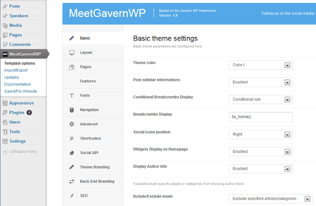 Meet GavernWP: Awesome Free Theme Framework for WordPress