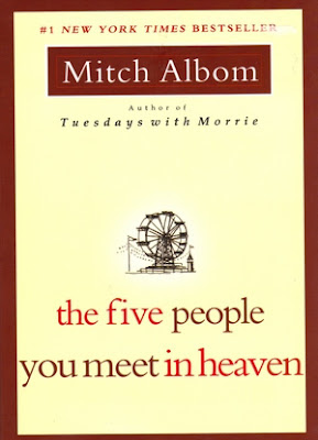 The Five People you Meet in Heaven by Mitch Albom - book cover