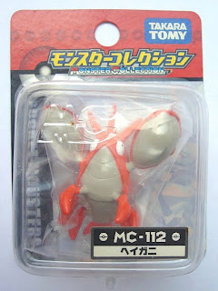 Corphish Pokemon figure Tomy Monster Collection MC series