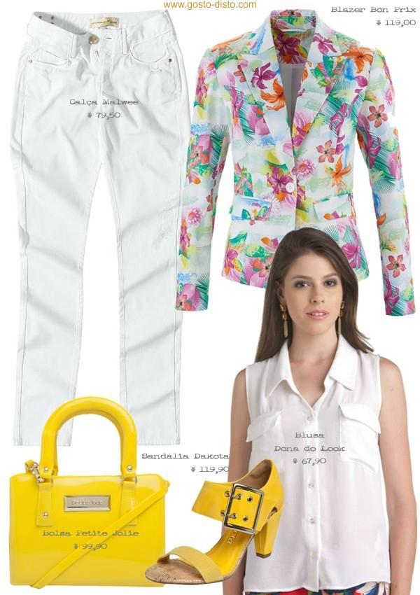 Como usar amarelo na primavera/verão