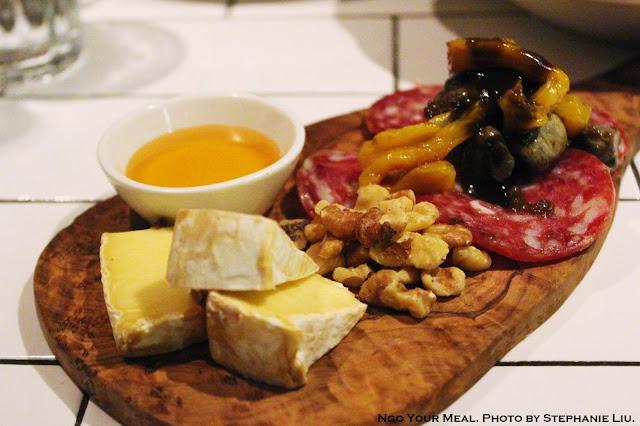 Sopressata and Camembert at Briciola