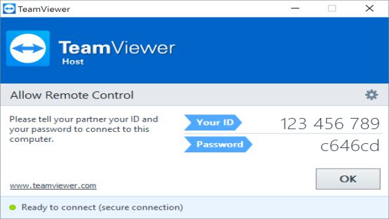 Teamviewer screenshot 3