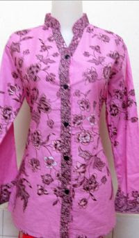 Contoh Model Baju Batik Guru