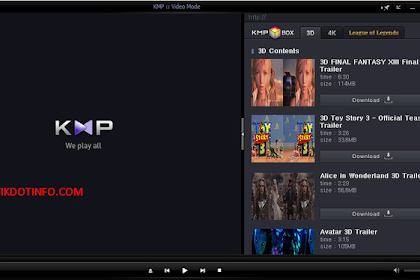 Download KMPlayer 4.0.7.1 Versi Terbaru