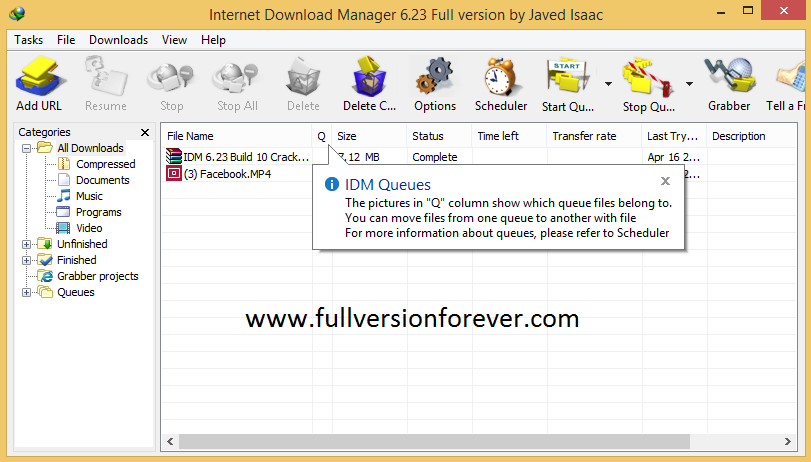 Topic: internet download manager + crack serial forever (1/1