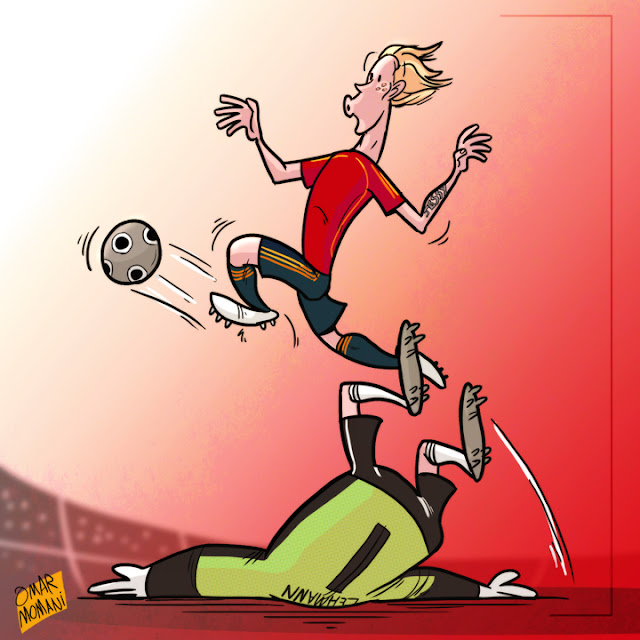 Fernando Torres cartoon
