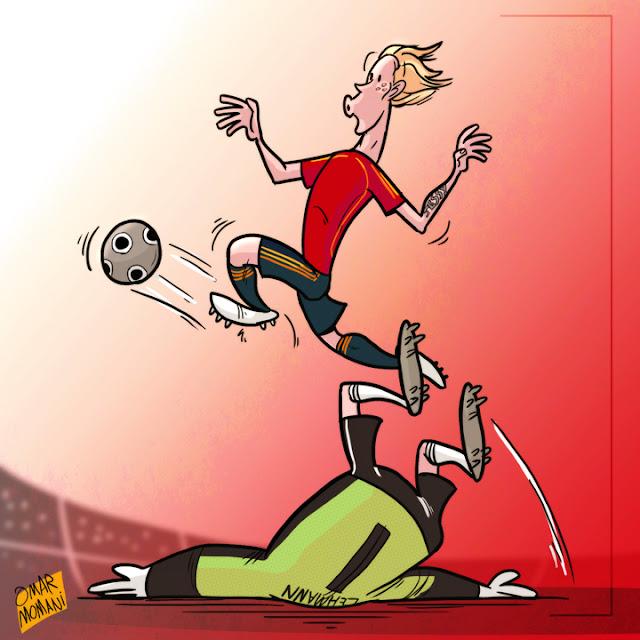 Fernando Torres cartoon