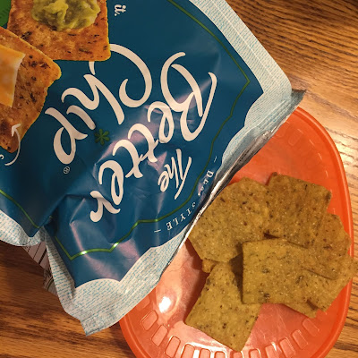 Snacking with The Better Chip Jalapeno and Cilantro from my Degustabox