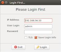 Halaman Login Linux