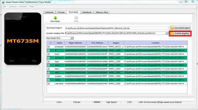 Cómo Flashear SAMSUNG GALAXY J1 SM-J100H CLON [MT6572]