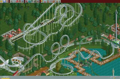 Pantallazo Videojuego RollerCoaster Tycoon