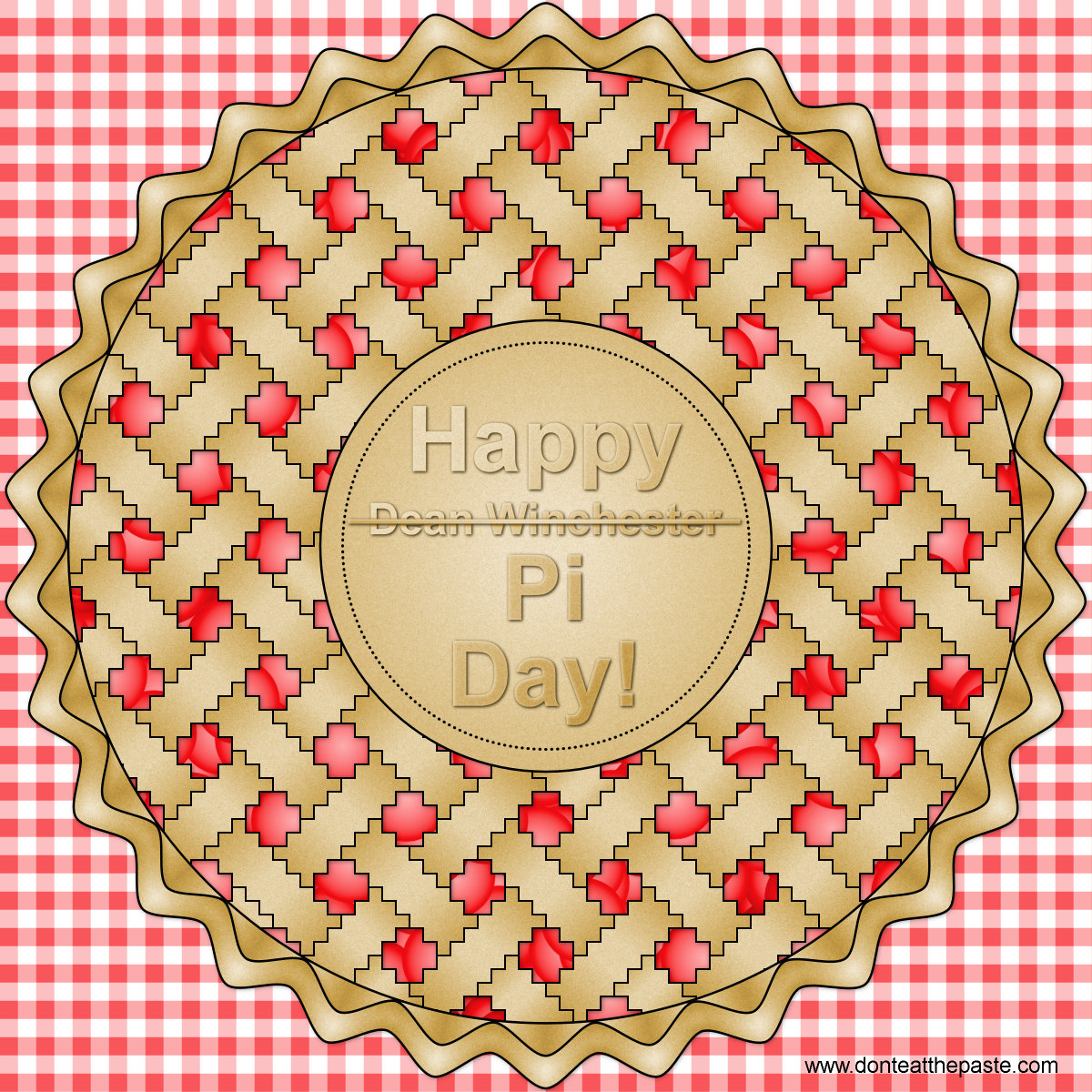 Happy Pi (or Dean Winchester) Day