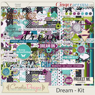 Project Me: Dream - Kit by Cornelia Designs