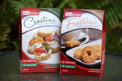 Freelicious Frollini and Crostini