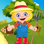 Games4king Cute Farmer Es…