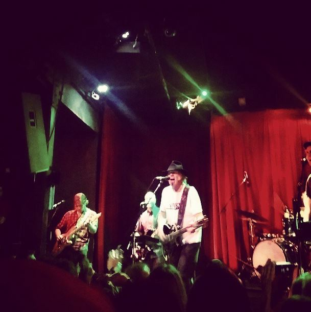 Neil Young, Slo Brew, San Luis Obispo