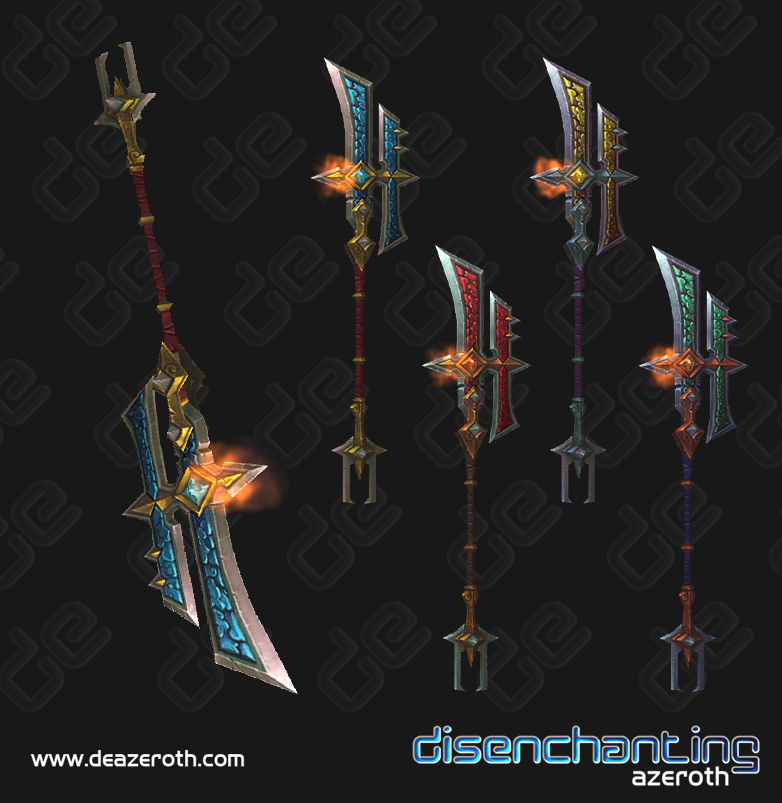 Disenchanting Azeroth: Mists of Pandaria Beta : New Weapon